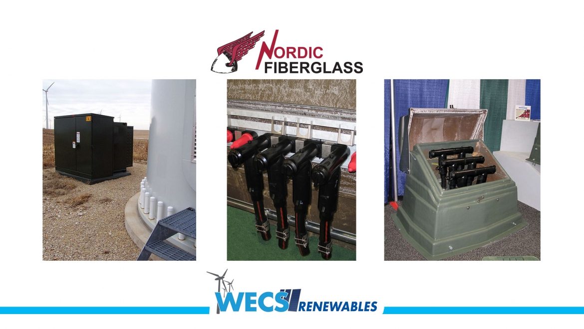NORDIC FIBERGLASS is a key partner with WECS