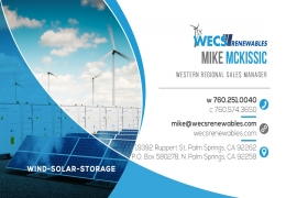 NEW Western Regional Sales Manager - Mike Mckissic