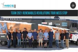 TCGM 2021 Renewables Revolution Tour WECS Renewables Stop