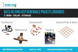 WECS Helping Keep Renewable Projects Grounded