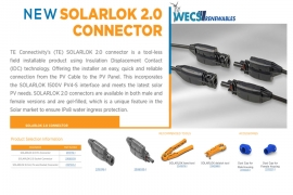 NEW TE SOLARLOK 2.0 DC connector